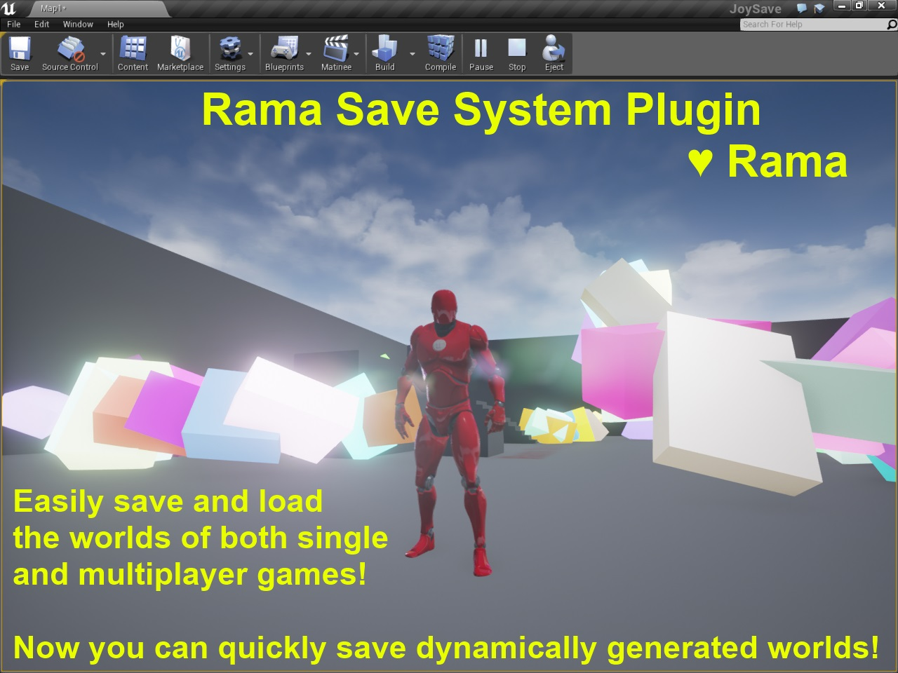 Save system plugin ue4 code the rama save system plugin for unreal engine 4 makes saving and loading your game easy malvernweather Image collections